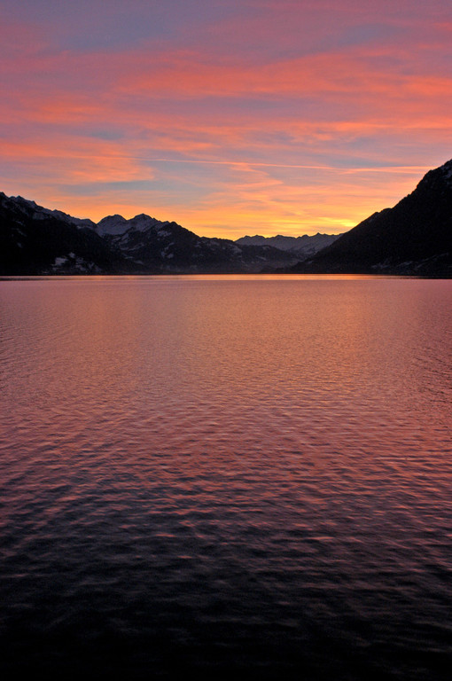 Sonnenuntergang am Brienzersee, Berner Oberland, © Carmen Weder