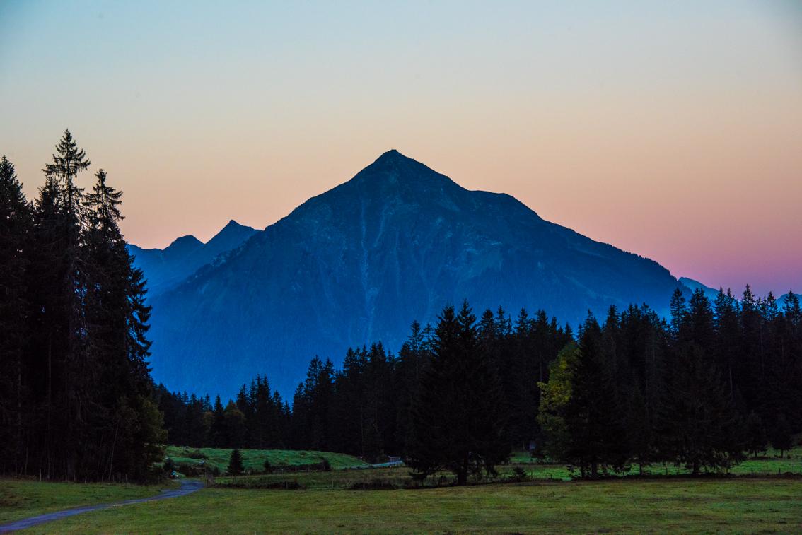 Morgenstimmung, Niesen, Berner Oberland, © Carmen Weder