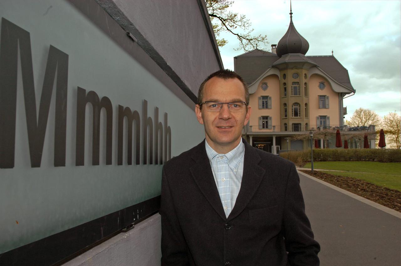 Hans Traffelt, Geschäftsleiter GutenPark im Grünen