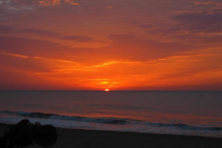Sonnenaufgang, Auroville Beach, Pondicherry, Indien - © Art of Moment, Carmen Weder, Fotografie, Bern, Schweiz
