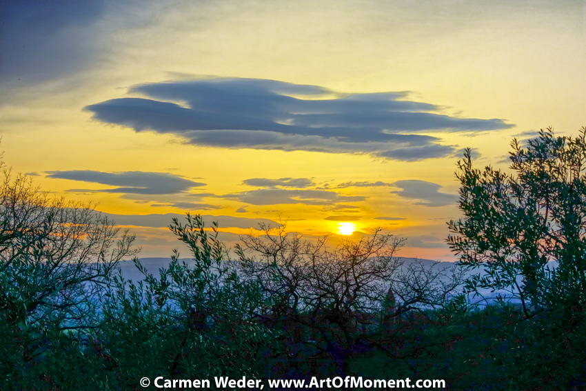 Engel am Himmel, Assisi, Italien, © Carmen Weder