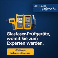 Mit Fluke networks Glasfasertools werden Sie zum Experten