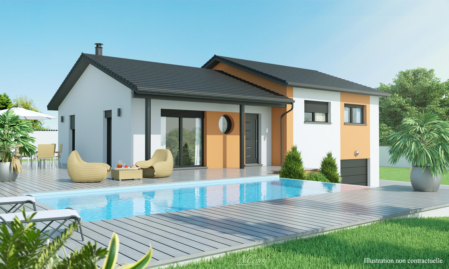 mod le rayon de soleil maisons axial loire 42. Black Bedroom Furniture Sets. Home Design Ideas