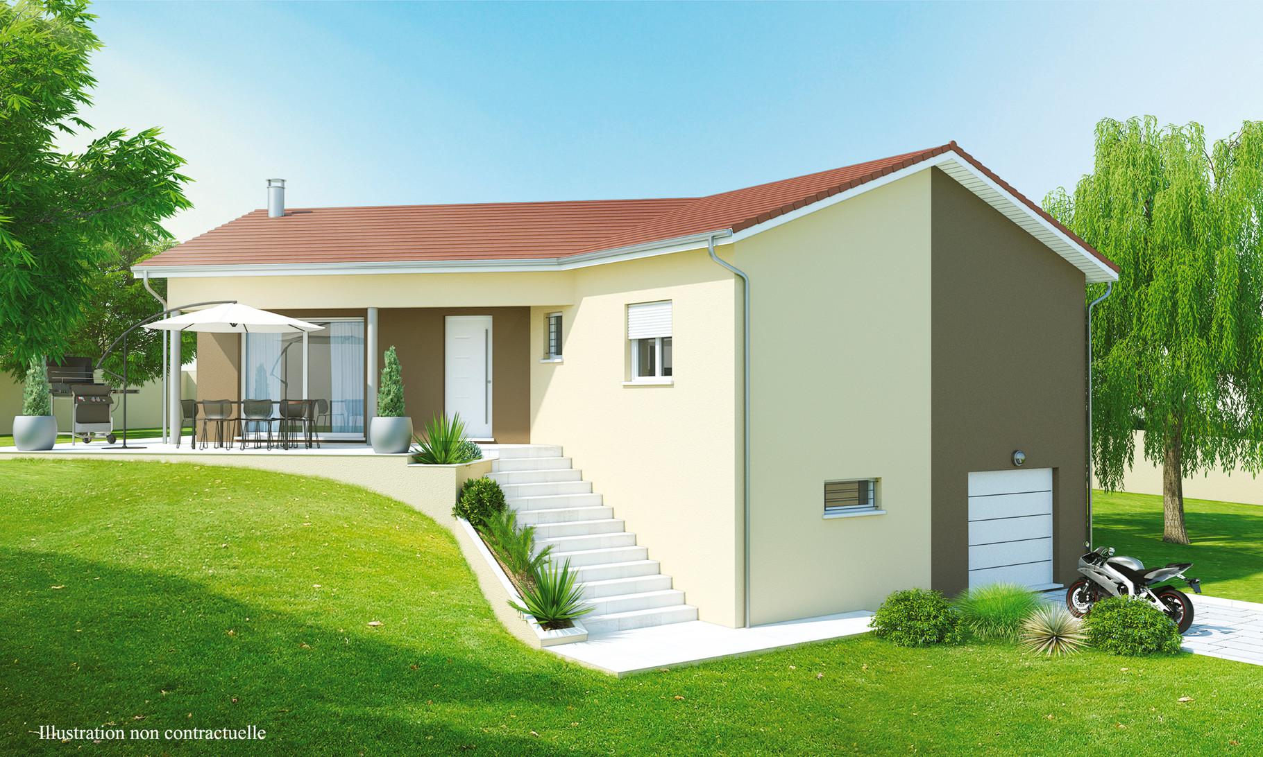 Maisons sur sous sol maisons axial loire 42 for Maison container loire 42