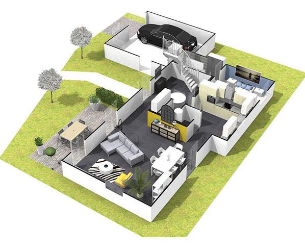 Modele Corail Maisons Axial Loire 42