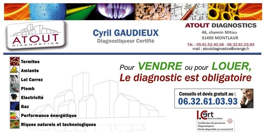 Atout Diagnostics - Cyril GAUDIEUX