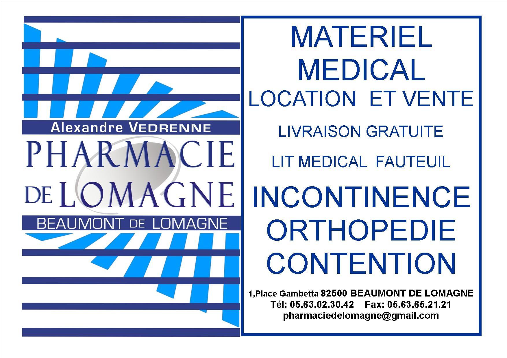 Pharmacie de Lomagne - Alexandre VEDRENNE