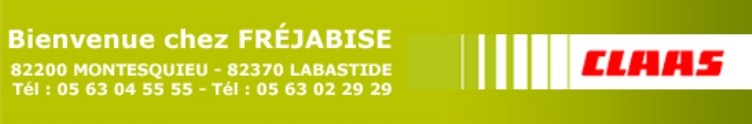 Concessionnaire Claas - FREJABISE