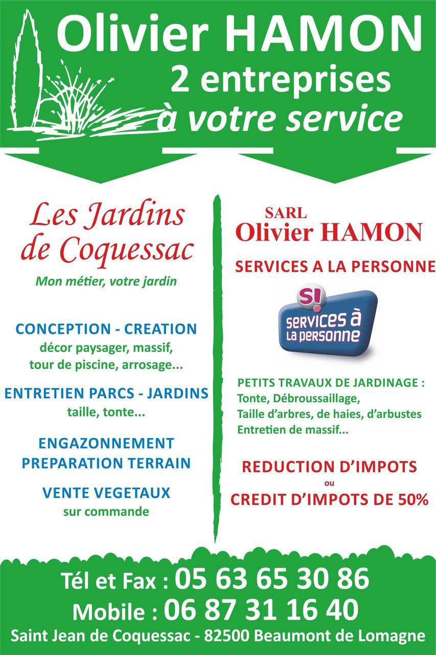 2 entreprises à votre service - Olivier HAMON