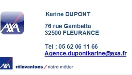 Agent général Axa - Karine DUPONT