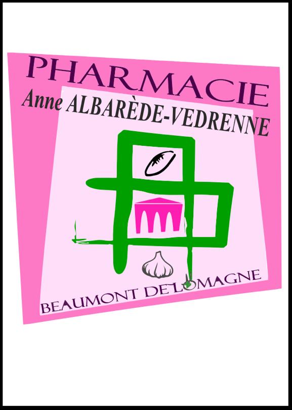 Pharmacie - Anne Albarède-Vedrenne