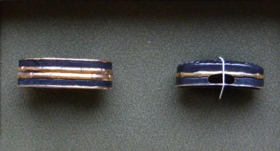 Ajiro / Bamboo - Fuchígáshira, golded - Typ B