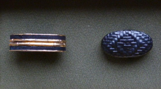 Ajiro / Bamboo - Steel Fuchígáshira, Typ B : HOLD