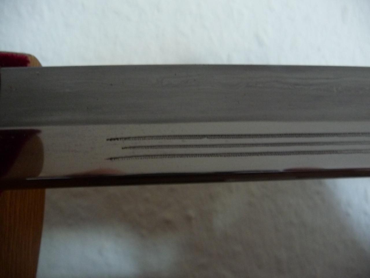 WKC - Jinsoku / Ukigumo, Katana- Nagasa, Detail