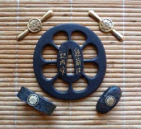 Katabami-Mimura-Sakai / Petal - Tosogu, as an example