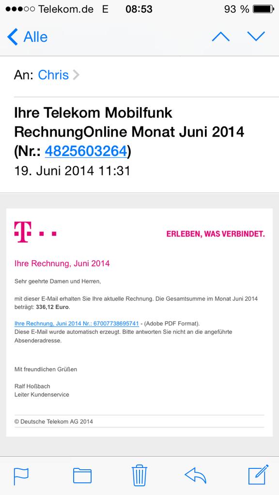 Email Telekom Weissstudio