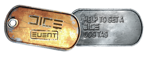 Battlefield 3 Dog Tag DICE