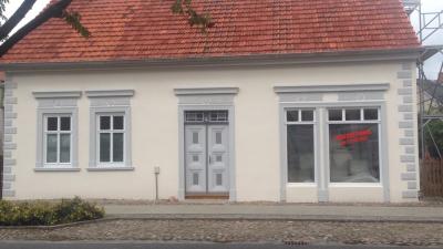 Hier fehlt noch die Schaufenster-Deko...