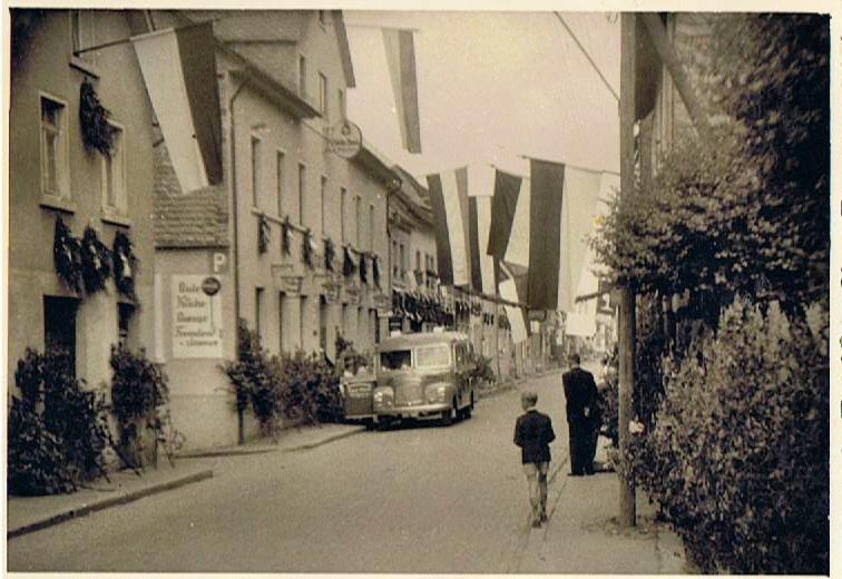 Fronleichnamsfest etwa 1953