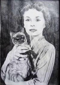 Lilli mit Pye, von Mareike gezeichnet