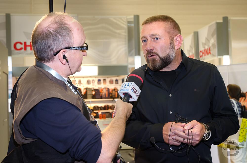 Interview mit Pavel Kaplun © Friedhelm Herr / FRANKFURTMEDIEN.net