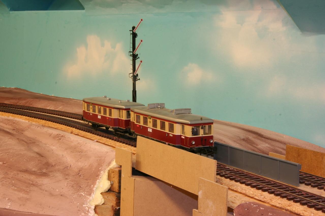 Der Gipsüberzug verkleidet schon etwas die Landschaft. 2008