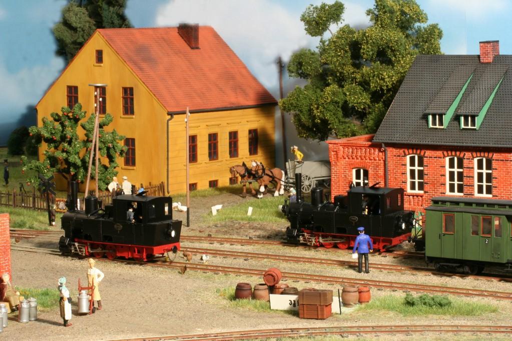 "Senzke, der ""große"" Lokwechselbahnhof"
