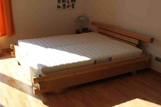 Doppelbett nach Kundenwunsch