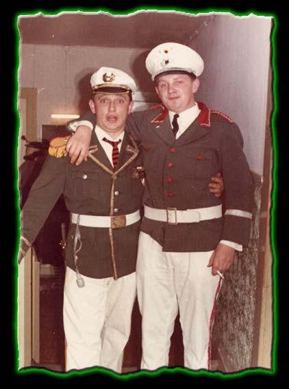 Narrenpolizei - Ewald Hahn und Ulrich Laupp