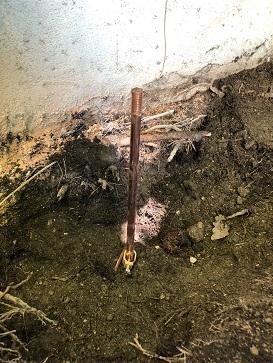 piquet en cuivre prise de terre maison marseille