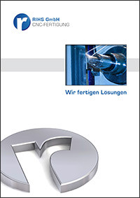 Broschüre Rihs GmbH
