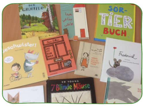 Tolle Bilderbücher zur Sprachförderung