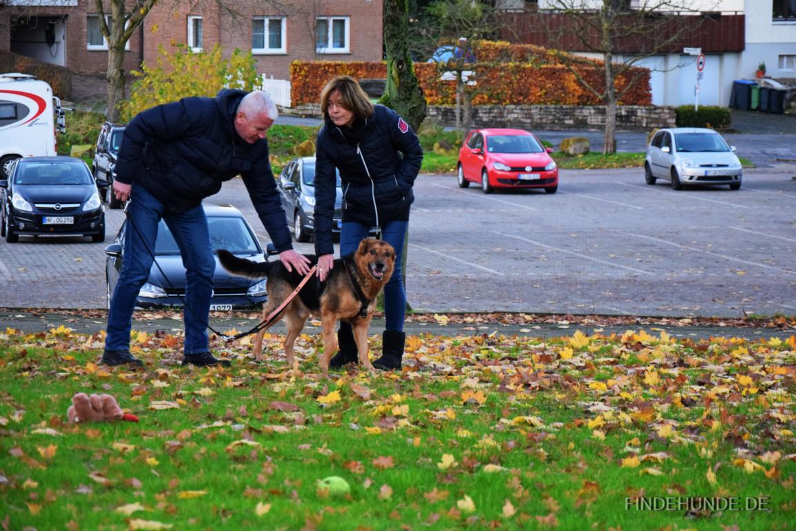 Christine und Harald mit Quinn