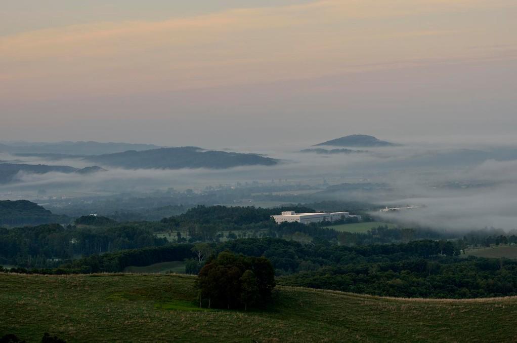 丸加高原の雲海