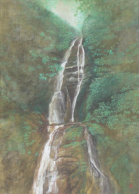 滝図    65.2x100.0