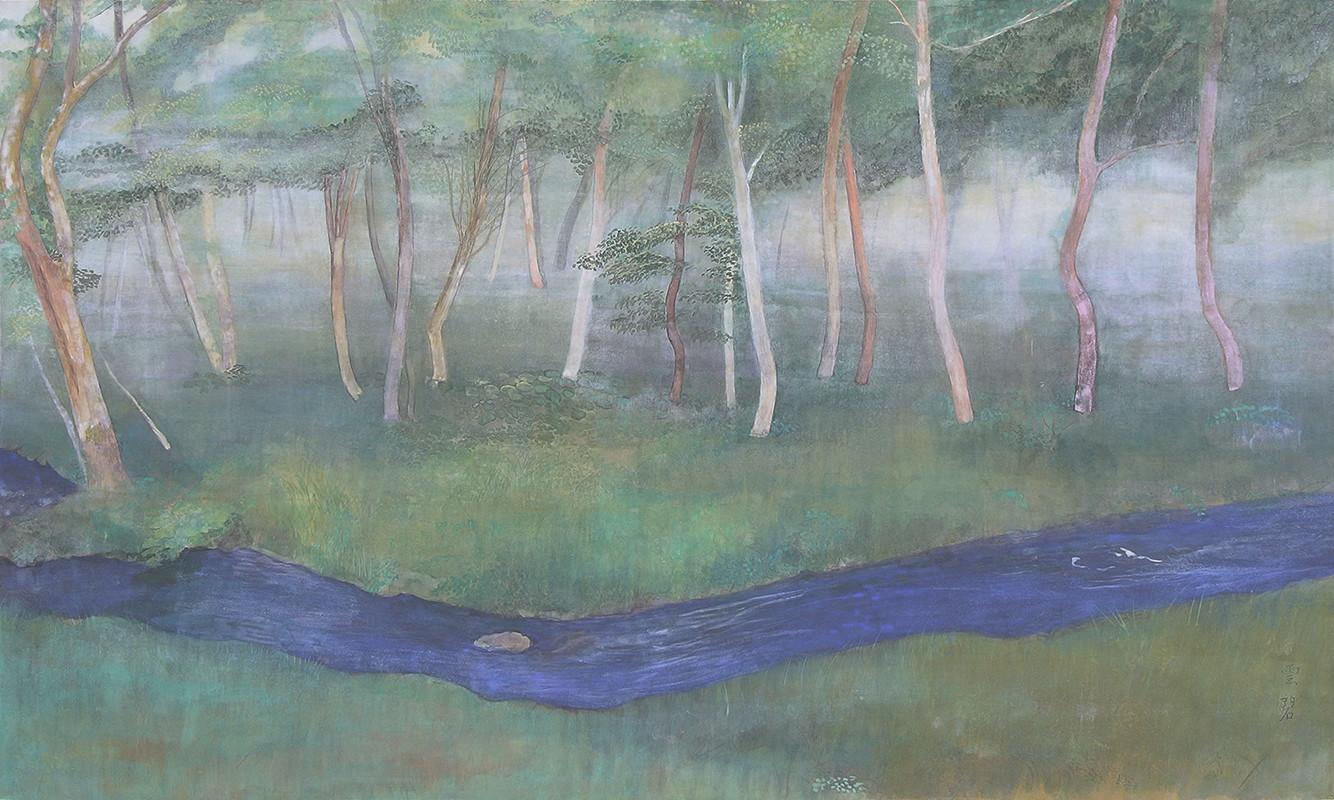 彼岸の林   97.0x162.0