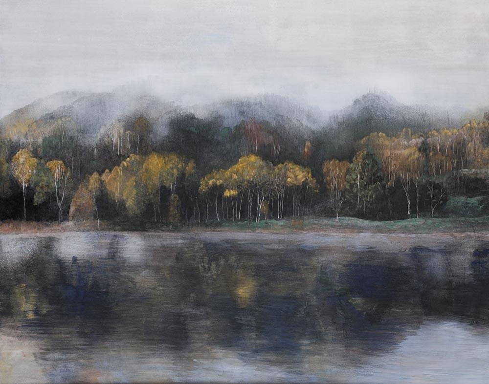 霧の池    130.3x162.0