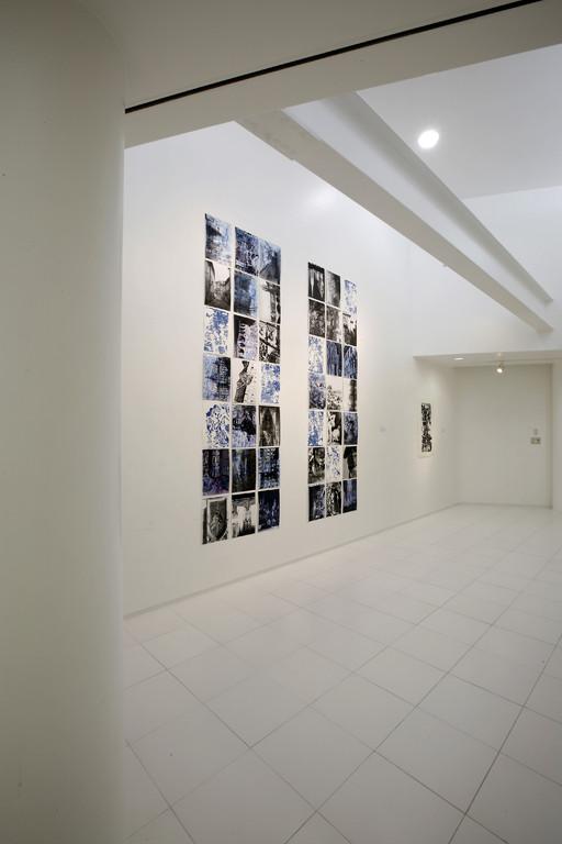 2009年個展、会場2階の展示