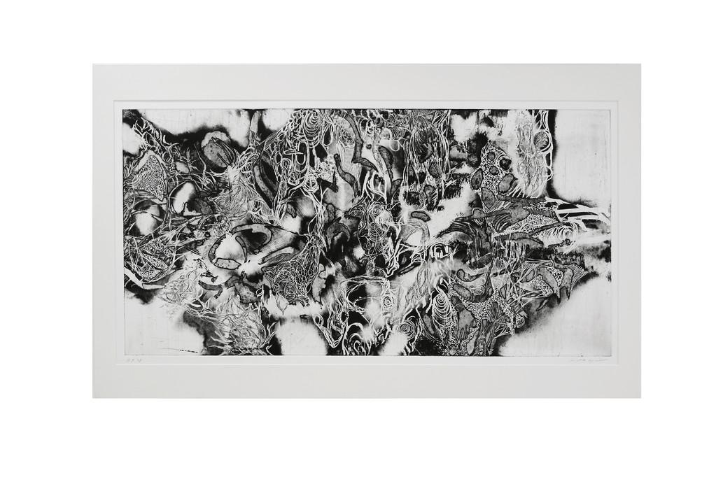 グレートオーシャンロード 銅版画 40x90cm
