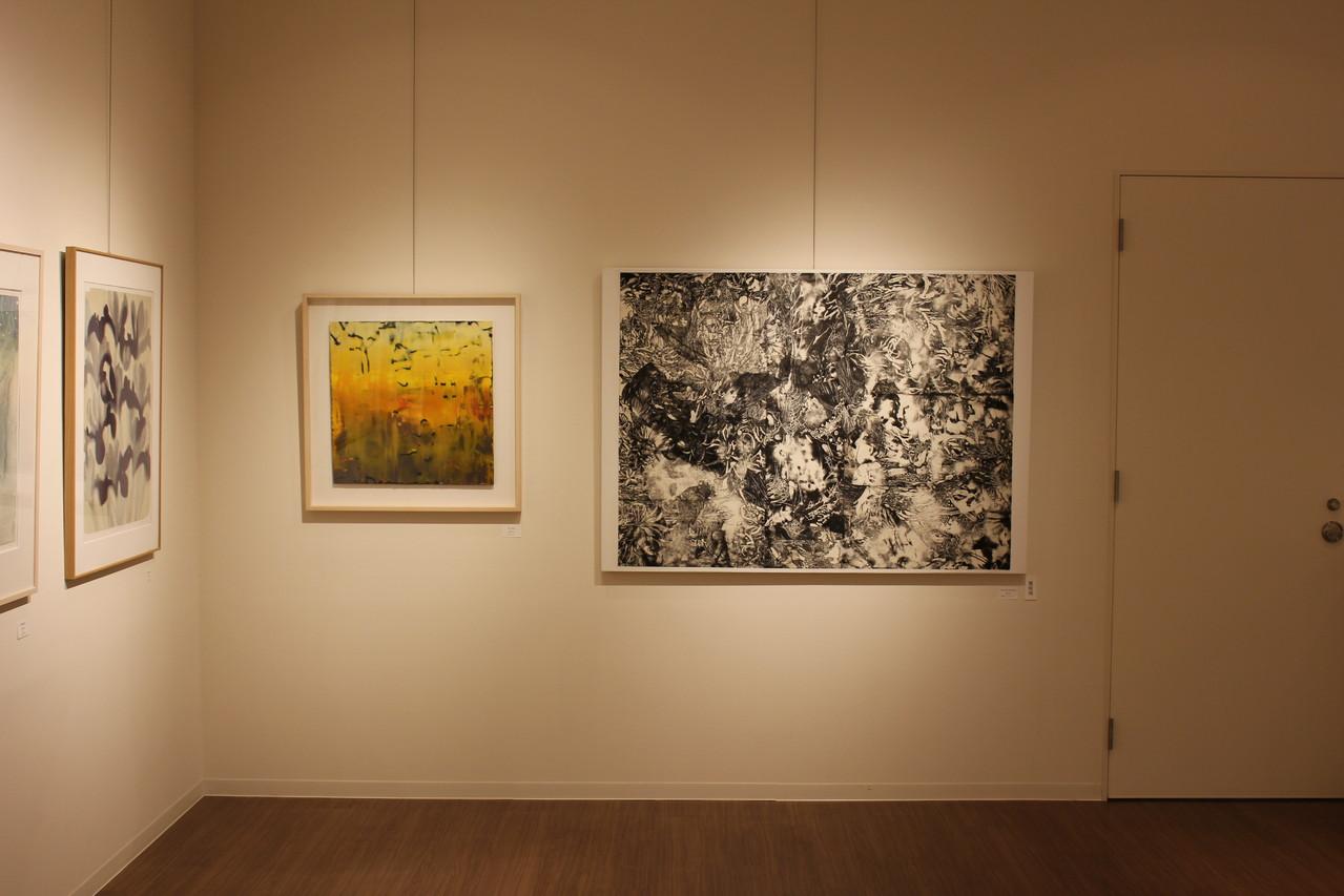 右/right   永井雅人/Masato Nagai       Works after Fukushima 2012  銅版画、コラージュ