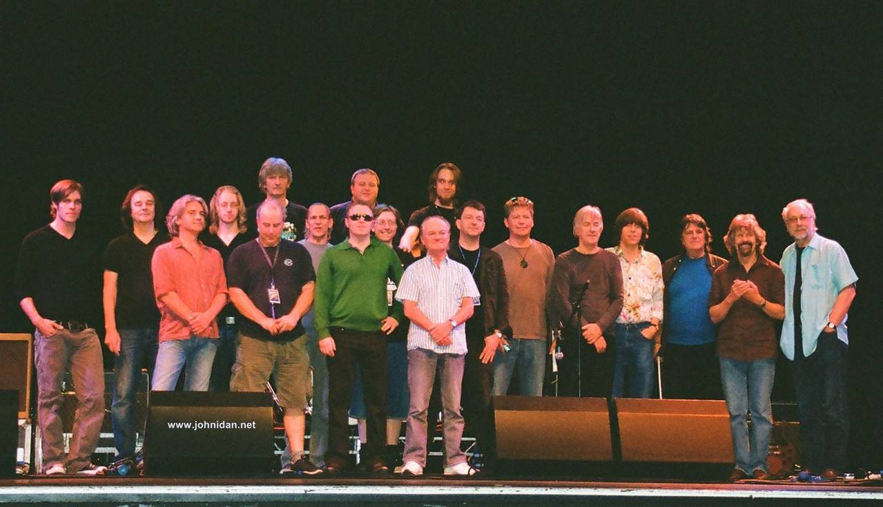 The Cast of the Zombies & Yardbirds Tour 2008; Photo: Franziska Idan