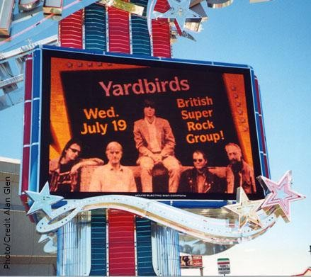 The Yarbirds Billboard in Reno; Photo: Alan Glenn