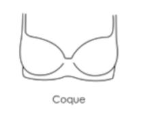 Soutien-gorge coque