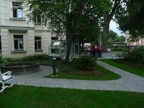Hier noch einige Impressionen unserer Arbeit im Park  Villa Augustin (Kästnermuseum)