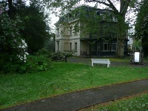 Die große Fläche (Sächsische Wegedecke grau) wird vom Museum rege genutzt