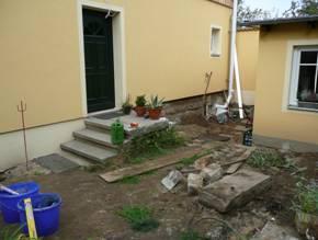 Zustand Baubeginn