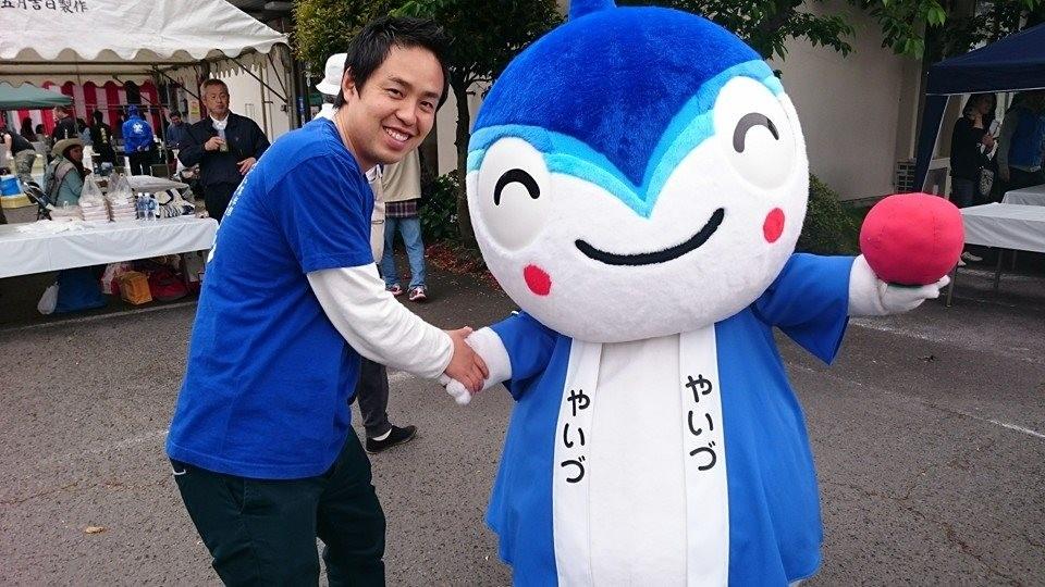 大井川港朝市 部長&やいちゃん