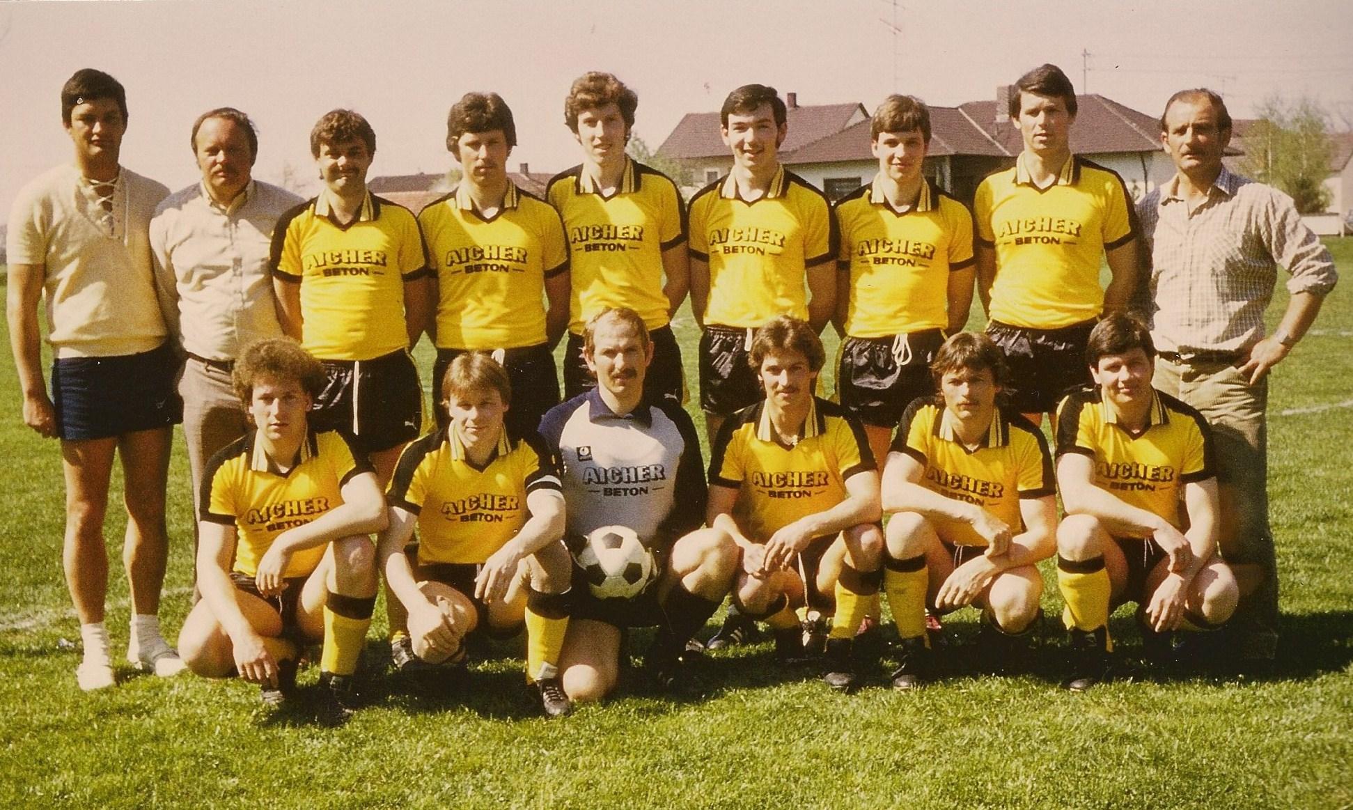 Meistermannschaft 1981