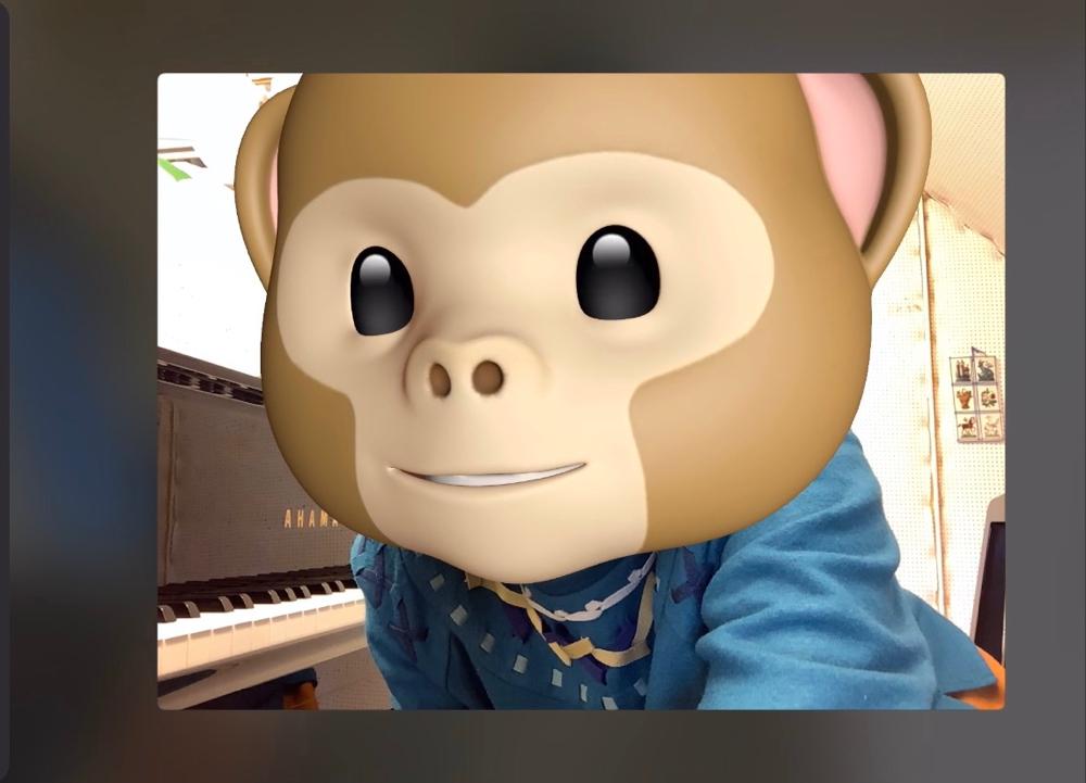 オンラインレッスン中、FaceTimeで遊んでみました!生徒さんもビックリ❣️