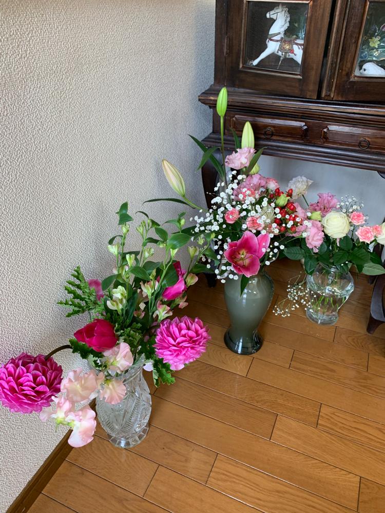 ステキなお花を頂きました!ありがとうございました!